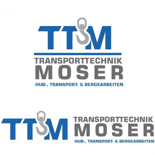 Logo-Design für modernes Transportunternehmen