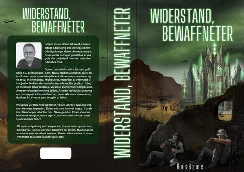 Buch-/E-Book-Cover für Science-Fiction-Buch
