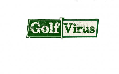 Logo-Design für coole Golfmarke