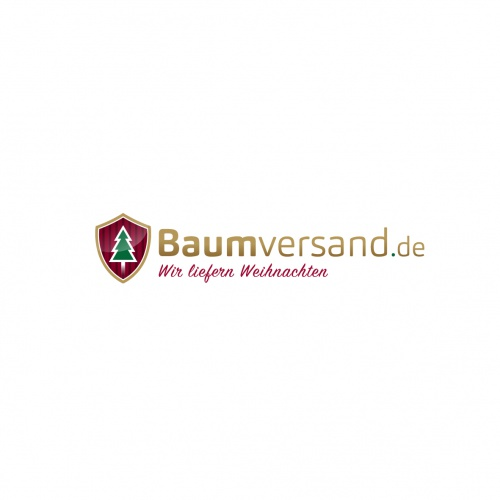 Logo-Design für einen Weihnachtsbaum-Onlineshop