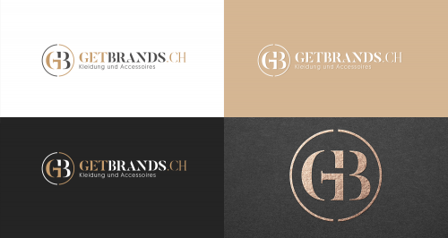 Logo for online shop selling clothes and accessories of premium brands