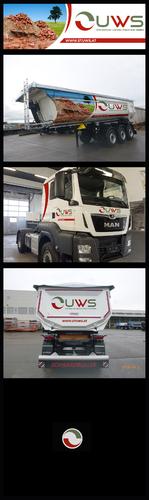 Redesign Fahrzeugbeschriftung Entsorgungsunternehmen