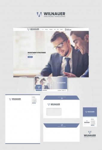 Logo & Visitenkarte für Versicherungs- und Finanzlösungen