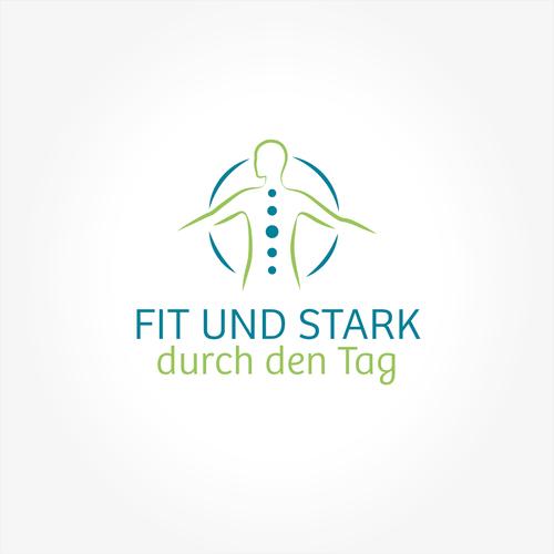 Logo-Design für Rückenschule in Unternehmen