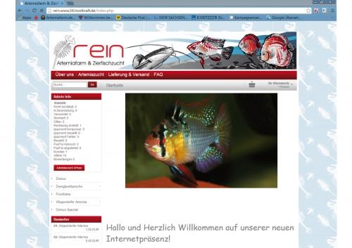 Artemiafarm &Zierfischzucht sucht Header für Webseite