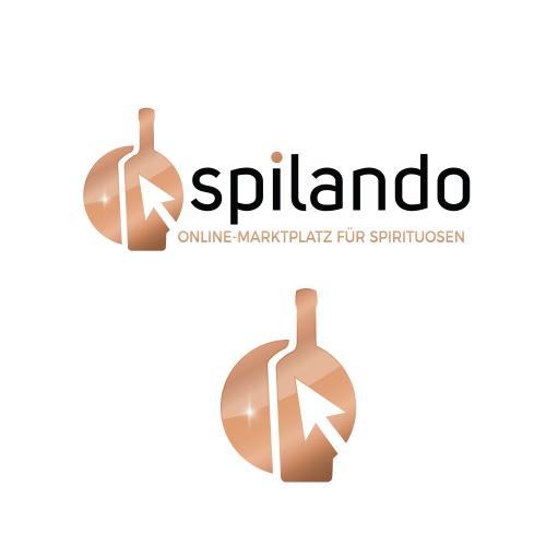 Logo-Design für Online Spirituosen-Marktplatz