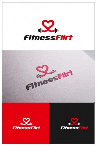 Logo-Design für eine sportliche Dating App