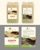 Etiketten voor Quinoa 500gr verpakking