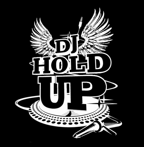 DJ HOLD-UP LOGO
