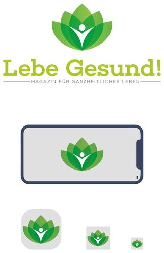 Logo-Design für (Online-) Magazin für die Themen Ernährung, Gesundheit, Heilpflanzen, Abnehmen, Vitalstoffe