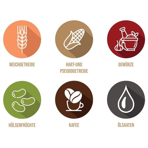 Icon-Design für Online-Shop für gesunde Nahrungsmittel und Utensilien