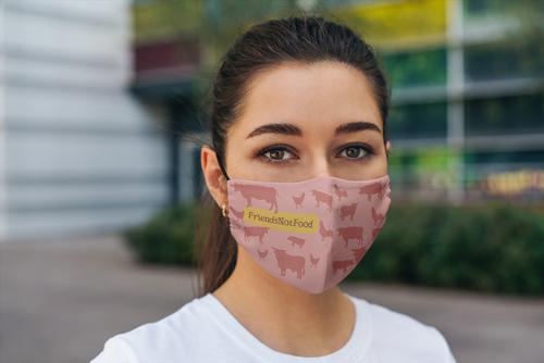 Design einer Maske für Tierfreunde