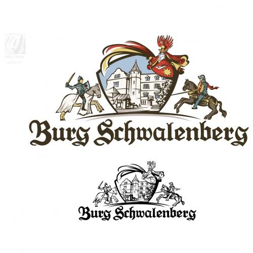 Logo-Design für Burg