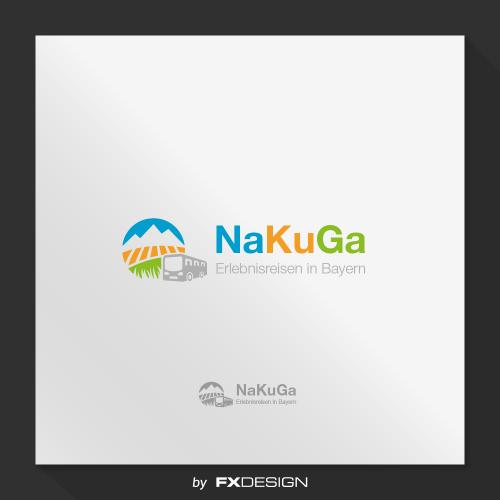 Logo-Design für NaKuGa Erlebnisreisen in Bayern