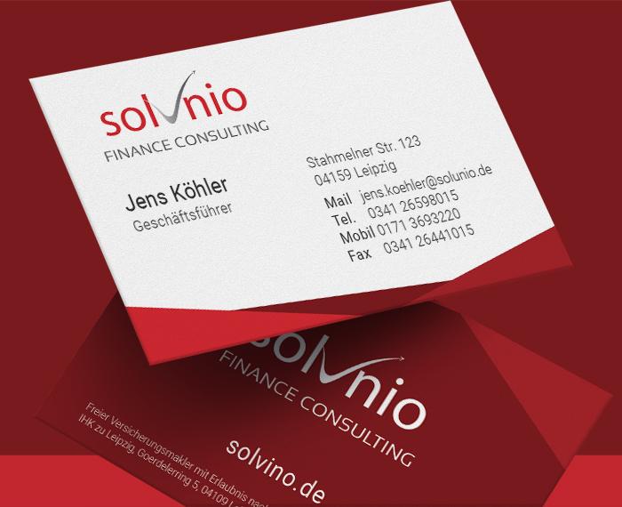 Visitenkarten Design Für Versicherungsmakler Visitenkarten