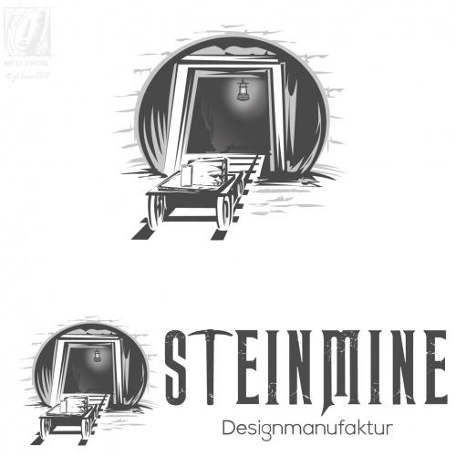 Logo-Design für Accessoires und Möbel aus Naturstein