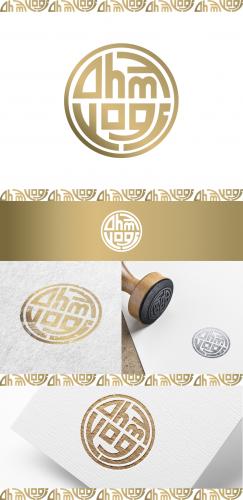 Logo-Design für einen Yogablog