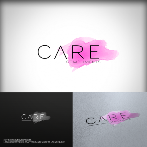 Logo-Design für care compliments