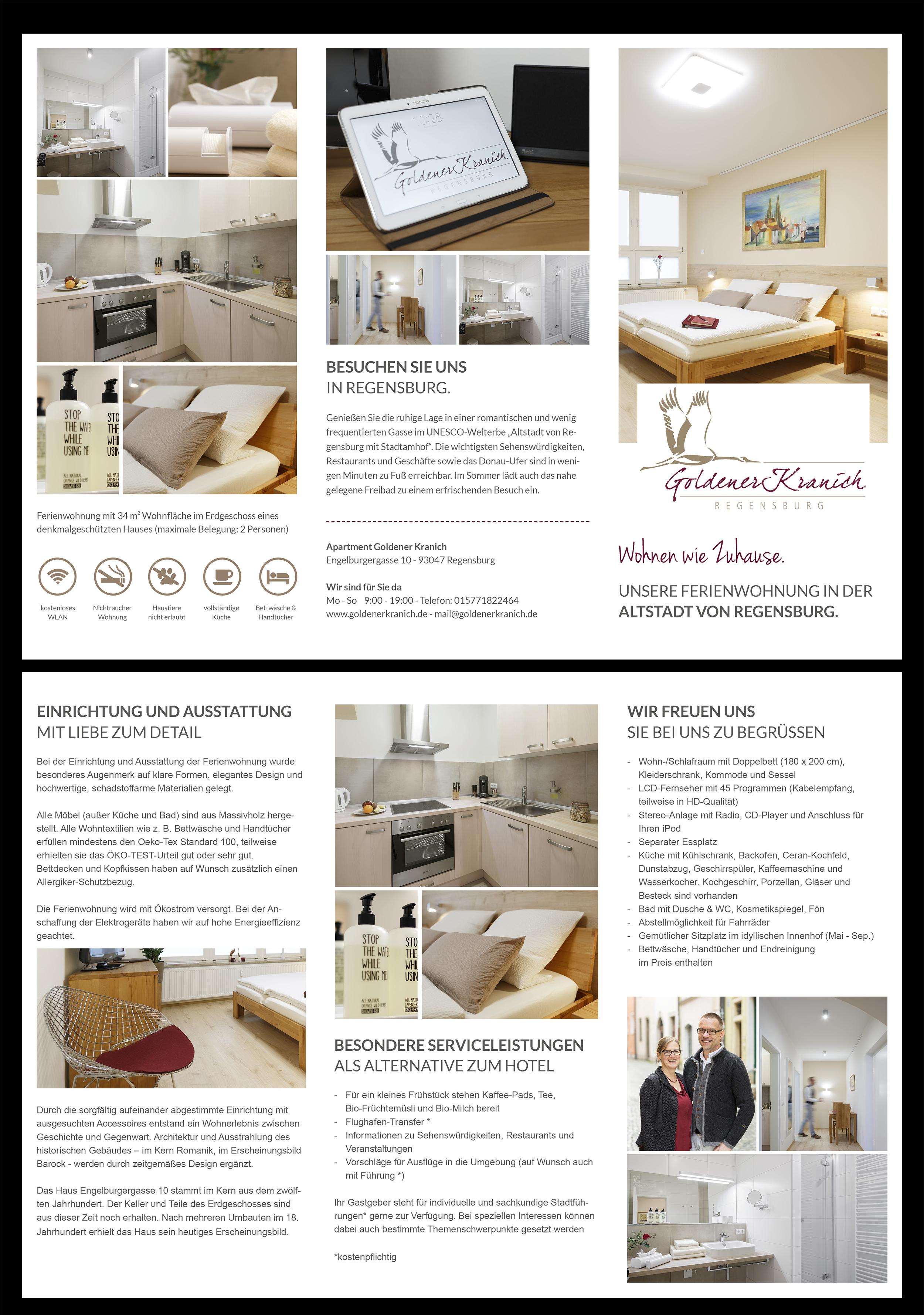 flyer-design für ferienwohnungsvermietungen » flyer design