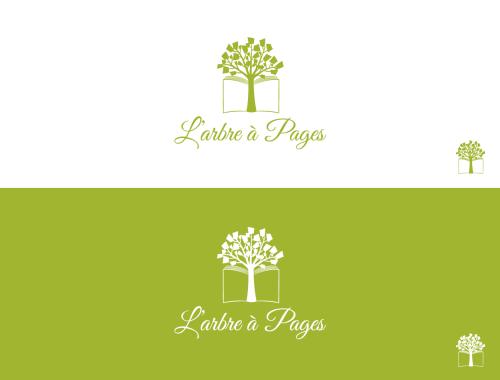 Logo Cartes De Visite Pour Un Atelier Reliure Dart Du Nom Larbre