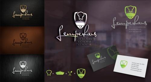 Logo für eine Kochschule » Logo design » designonclick.com | {Kochschule logo 38}