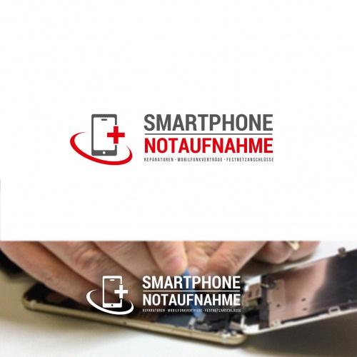 Logo-Design für Smartphone Notaufnahme