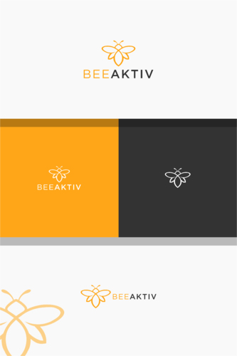 Logo-Design für Vermietung von Bienenstöcken zur Unterstützung der Umwelt