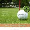 Einladung mit Programmheft für Golf Turnier