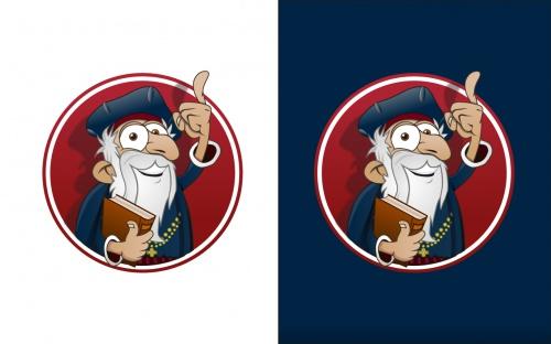 Comic versie van onze logos