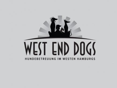 Logo-Design für West End Dogs Hundebetreuung in Hamburgs Westen