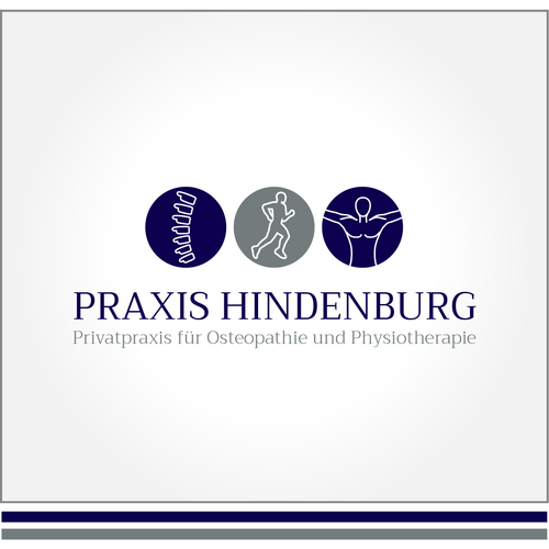 Corporate Design für Privatpraxis für Osteopathie und Physiotherapie