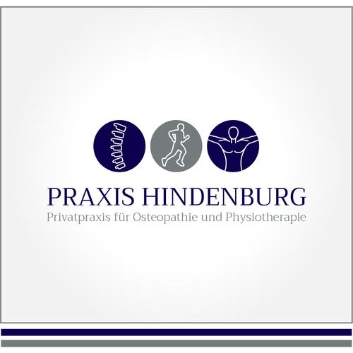 Corporate Design für Privatpraxis für Osteopathie und Physiotherapie