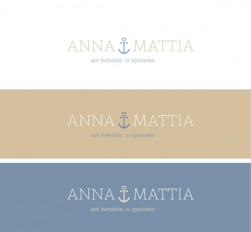 Logo-Design für unsere Hochzeit