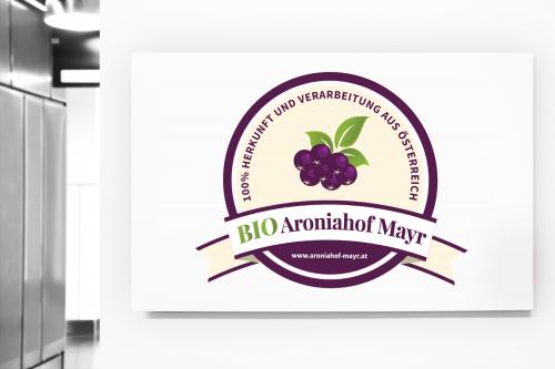 Verkauf von Aroniasaft  sucht Logo-Design