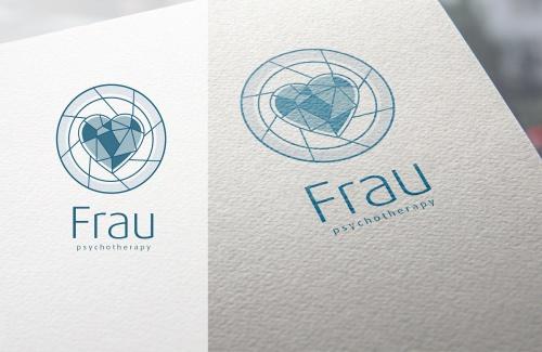 Heilpraktikerin für Psychotherapie sucht Logo das zum Nachdenken anregt