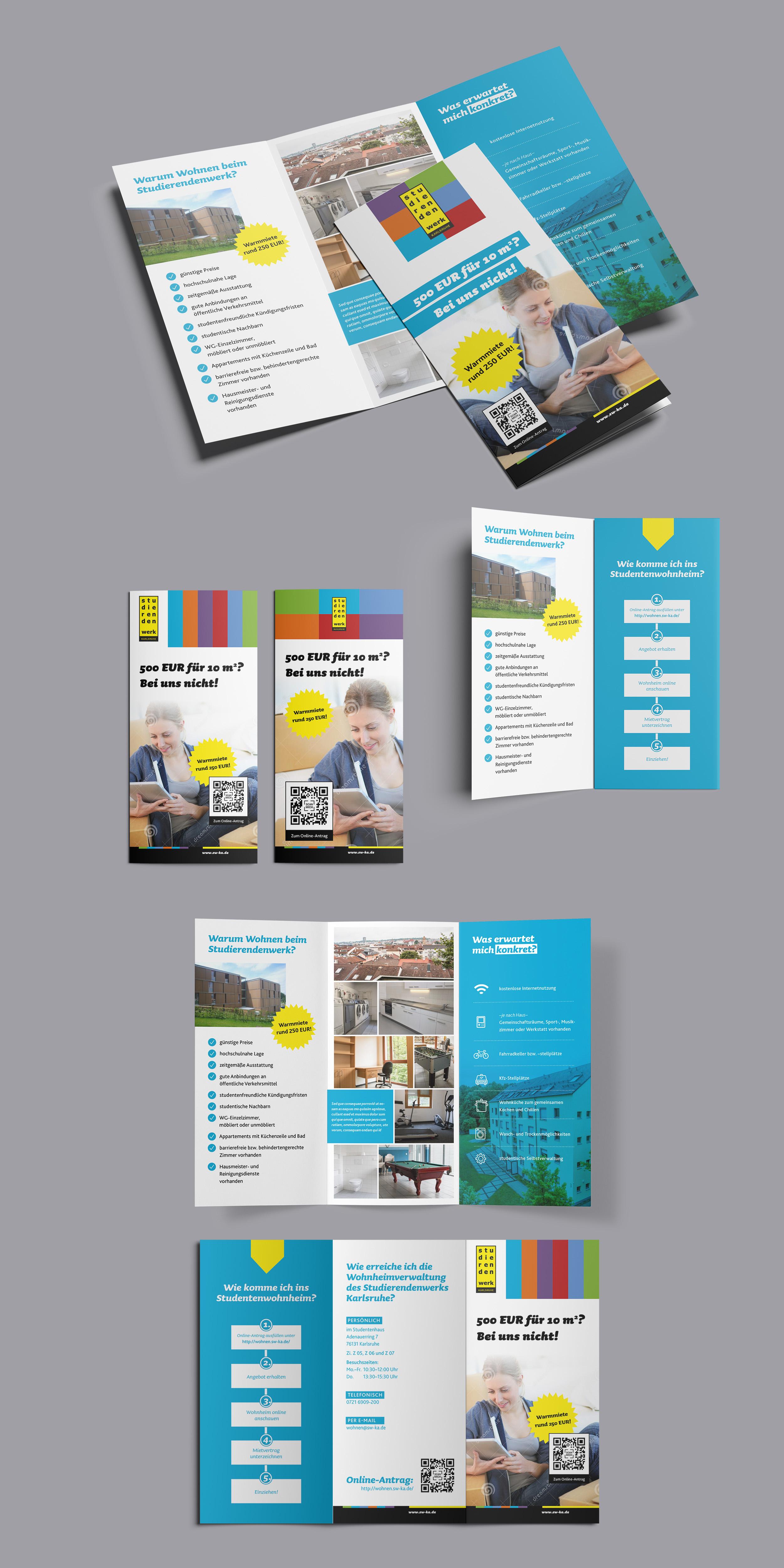 Flyer-Design und Plakat für Wohnheime eines Stud.. » Flyer ...