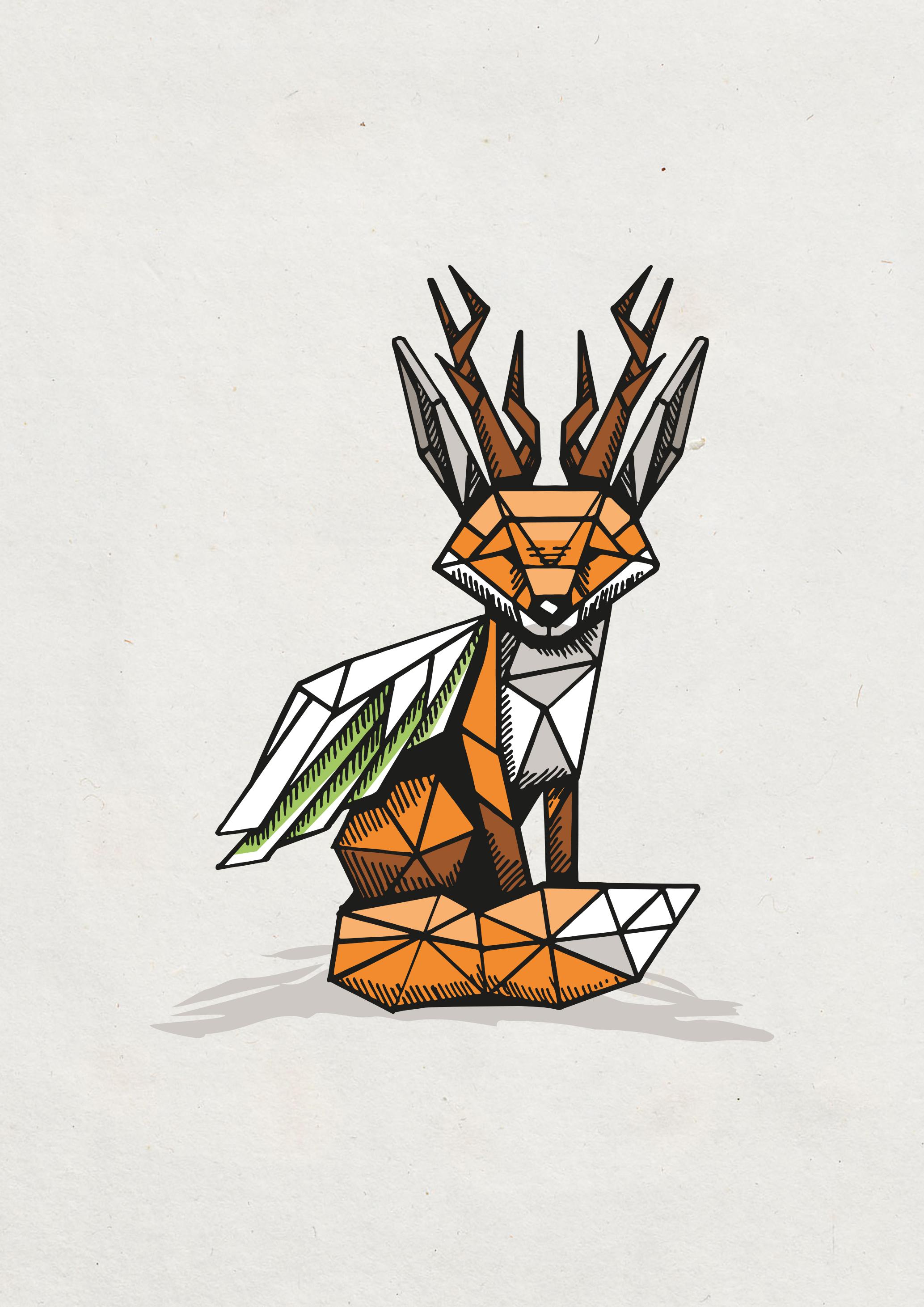 Logo: Designe ein Wolpertinger!