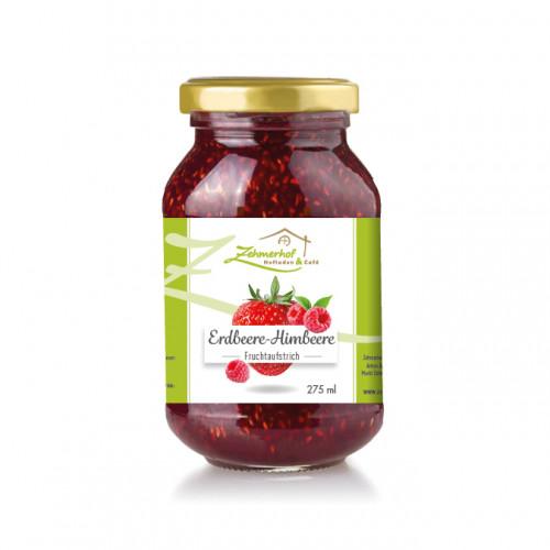 Etiketten für Fruchtaufstriche eines Hofladens