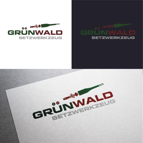 Logo-Design für die Herstellung von Setzwerkzeug