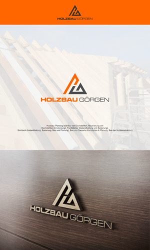 Logo-Design für Instandhaltung und Sanierung von Dachstühlen