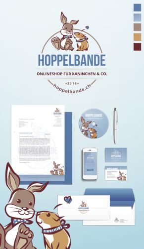Corporate Design für hoppelbande.ch