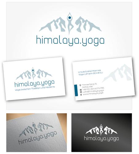 Freiberufliche Yoga Lehrerin Sucht Logo Vi Logo