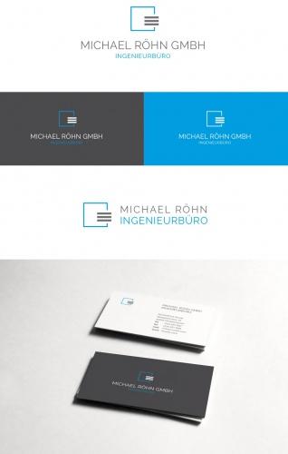 Logo Visitenkarte Für Ingenieurbüro Logo Business Card