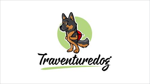 Logo-Design für einen Abenteuerblog