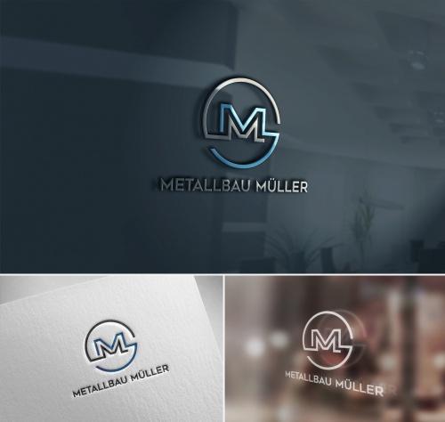 Logo-Design für Einzelunternehmen Metallbau Müller