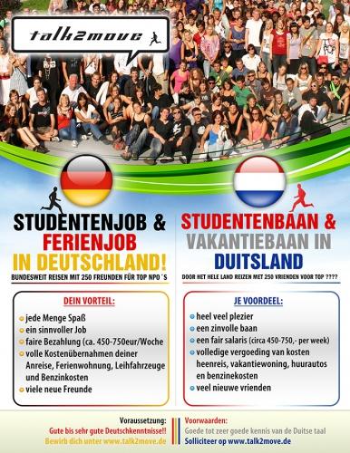 Plakat gestaltung auf Niederländisch & Ungarisch