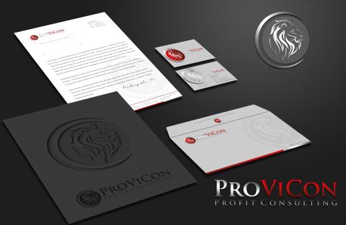 Visitenkarten Design Für Provicon Profit Consult