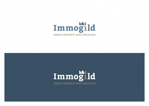 Logo-Design für Immogild homestaging & redesign