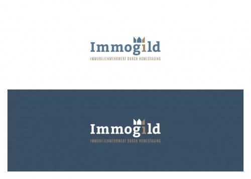 Logo-Design für Immogild homestaging & redesign