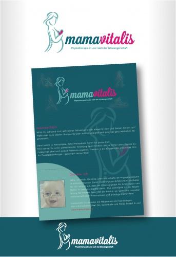 Logo für Physiotherapie und Sport für Schwangere und Mütter mit Ihren Babys